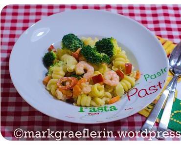 Mein Mann kann – Mittwochspasta: Pasta mit Brokkoli und Garnelen #Feierabendküche