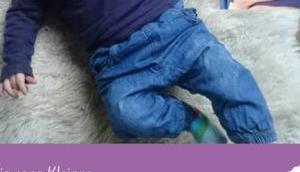 Baby Halstuch nähen: kostenlose Schnittmuster IMUT