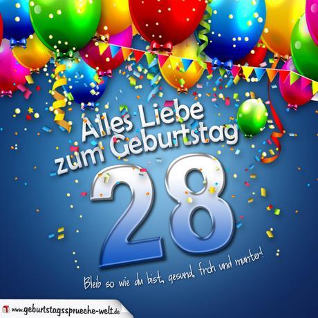 28 Geburtstag Bilder 1gb Pics