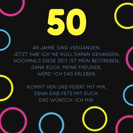 50 Geburtstag Mann Sprüche