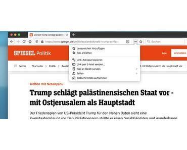 Firefox und Notizen