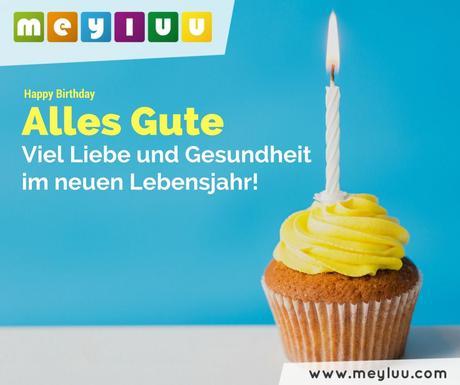 Geburtstag viel gute und gesundheit alles zum Schöne Geburtstagswünsche: