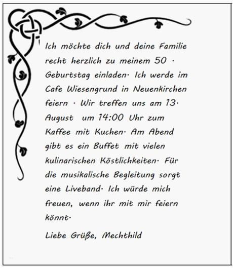Sprüche einladung zum kaffee Einladungstexte zum