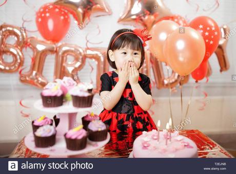 Geburtstag party zu hause