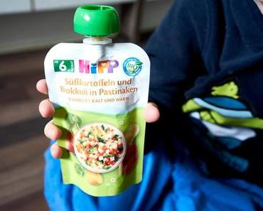 Eingewöhnung im Kindergarten – Zeit und Nerven sparen mit HIPP und den herzhaften Quetschbeuteln.