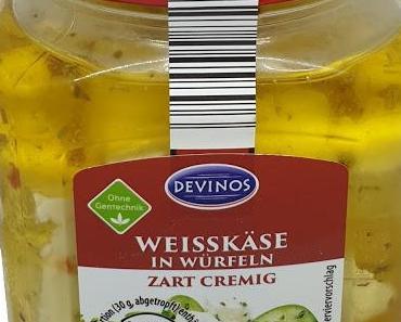 ALDI - Devinos Weisskäse in Würfeln mit Paprika und Chili