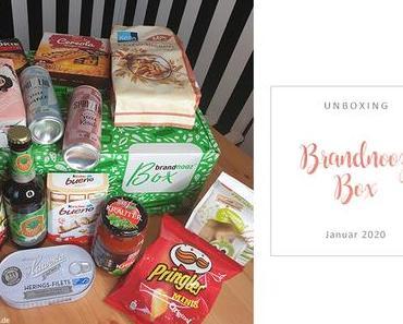 Brandnooz Box - Januar - unboxing