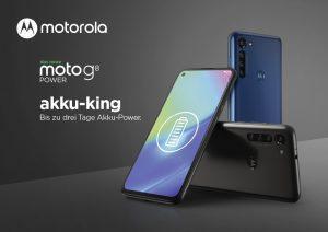 Motorola Moto G8 Power mit langer Akkulaufzeit