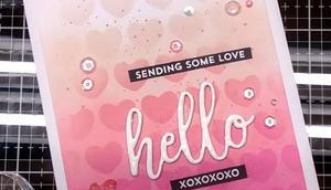 Sending some Love Cards More Challenge