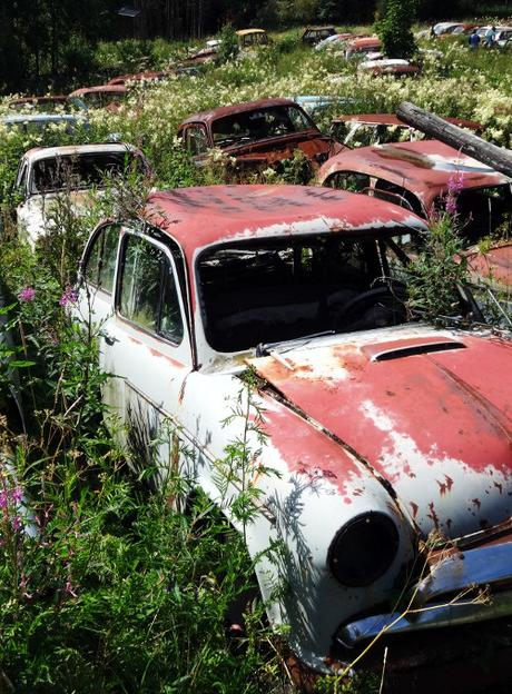 Lost Places: Autofriedhof in Schweden