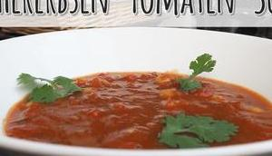 Kichererbsen-Tomaten-Suppe