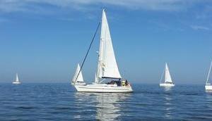 Foto: Segelboote Ijsselmeer