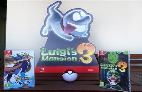 Nintendo Switch Pokemon Schwert und Luigi's Manson 3