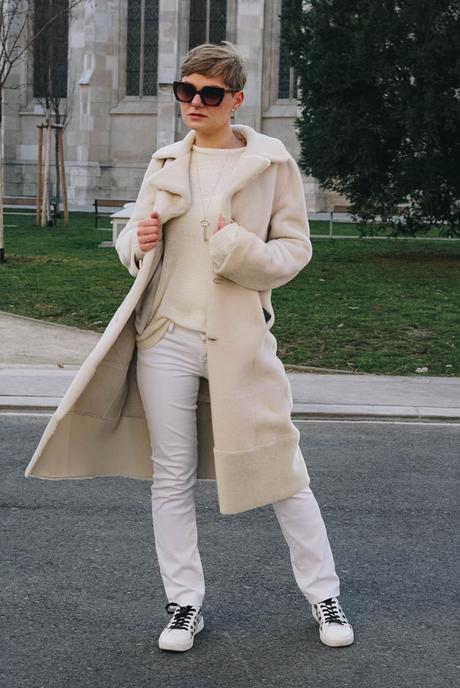 Wintertrend: All White Outfit