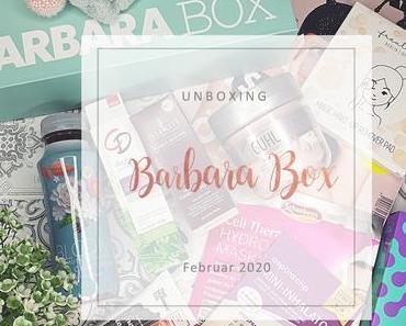 "Barbara Box - 01/2020 ""Einmal neu, bitte!"" - unboxing"