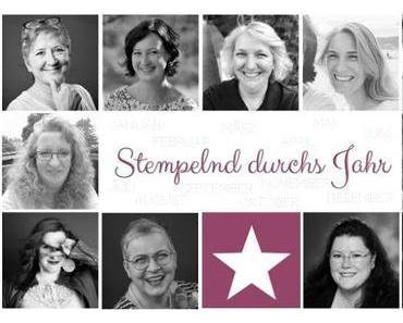 """Blog Hop Stempelnd durchs Jahr zum Thema """"Besondere Kartenformen"""""""