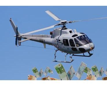 FED und EZB mit Helikoptergeld gegen Corona-Folgen