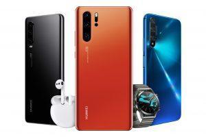 Huawei P40 Lite Mittelklasse-Smartphone kostet 300 Euro