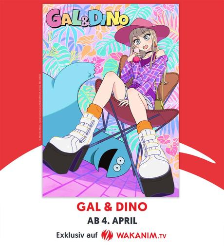 ",,Gal and Dino"" im Simulcast bei WAKANIM"