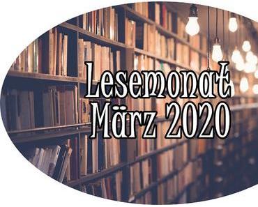 Mein Lesemonat März '20
