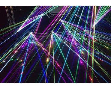 Lasershows oder Projektionen – das Eventhighlight