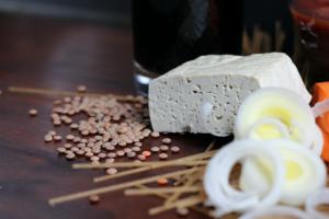 Pasta mit Linsenbolognese