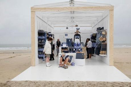 H&M; Beach Pop Up Store - Water Aid Collection