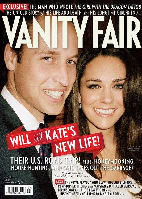 Kate Middleton und Prince William - Vanity Fair Cover