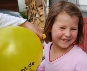 Hochdruck im Luftballon