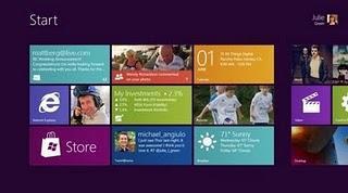 Microsoft stellt Windows 8 für PC und Tablets vor.