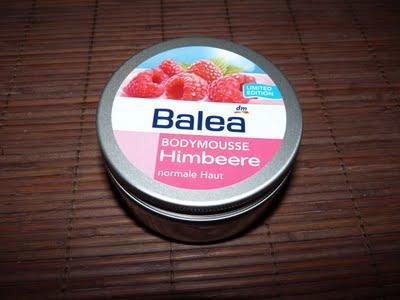 Balea Bodymousse Himbeere - Kurzreview