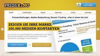 PressKing hilft Unternehmen bei Online-PR