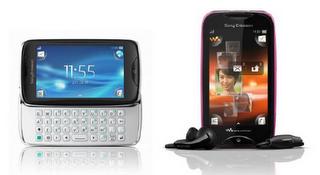 """Sony Ericsson: Neue Einsteiger-Handys """"Mix Walkman"""" und """"txt pro"""" vorgestellt."""