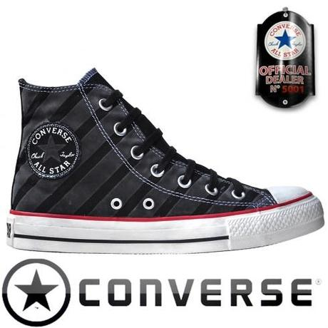 #Converse Chuck Taylor All Star #Chucks 113916 Schwarz Stripes Gestreift HI