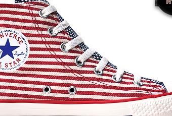 Converse Chucks Taylor All Star #Chucks 122177 USA Flag Weiß