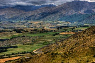 Crown Range; on the way from Queenstown to Wanaka