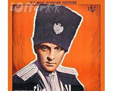 Rudolph Valentino mit falscher Musikuntermalung