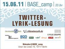 [News] Twitter-Lyrik-Lesung in Berlin