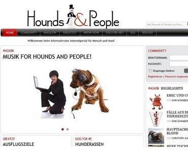 Neues zu Hunden und Menschen - Hounds