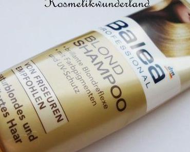 Review   Balea Professional Blond Shampoo