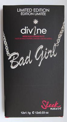 Sleek i-Divine Bad Girl Lidschattenpalette