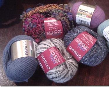 Filatura di Crosa – ein Teil der neuen Winterkollektion ist da!