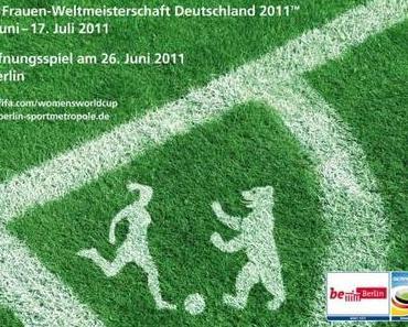Das entsetzliche Berlin-Poster der FIFA Frauenweltmeisterschaft 2011