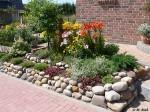 Saisonale Vorgartengestaltung