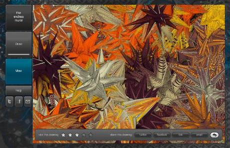 endlessmural The Endless Mural: Weitere Anwendung auf Basis des HTML5 Canvas