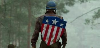 Featurette zum Schild 'Captain America'