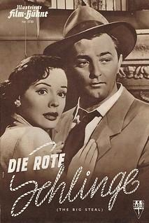 The Big Steal (dt.: Die rote Schlinge, USA 1949)
