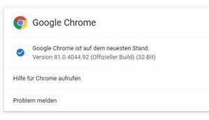 Chrome schließt viele Sicherheitslücken