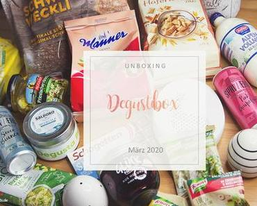 Degusta Box - März 2020 - unboxing