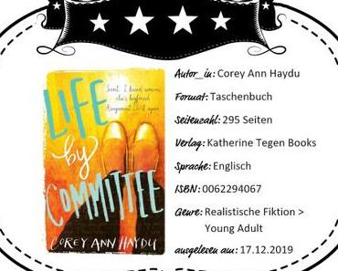 Corey Ann Haydu – Life by Committee